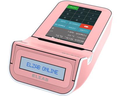Kasa-Fiskalna-Elzab-K10-Online-BT-GPRS-Różowy-Biały (E)