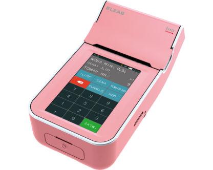 Kasa-Fiskalna-Elzab-K10-Online-Bt-Wifi-Różowy-Biały